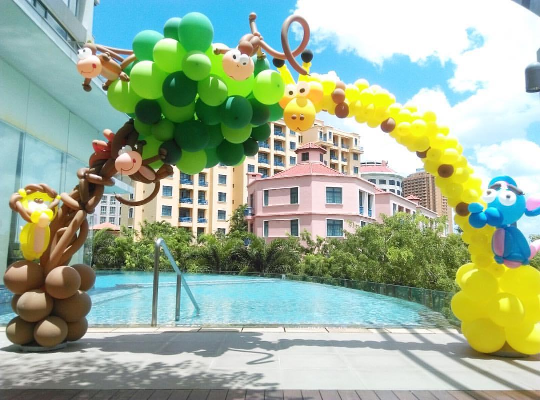 Balloon Decoration Singapore Mr Polka S Professional Magic Show